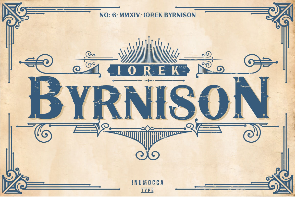 5 Typeface vintage bundle example image 9