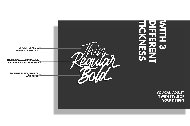 Rottordam - Regular, Thin, and Bold example image 8