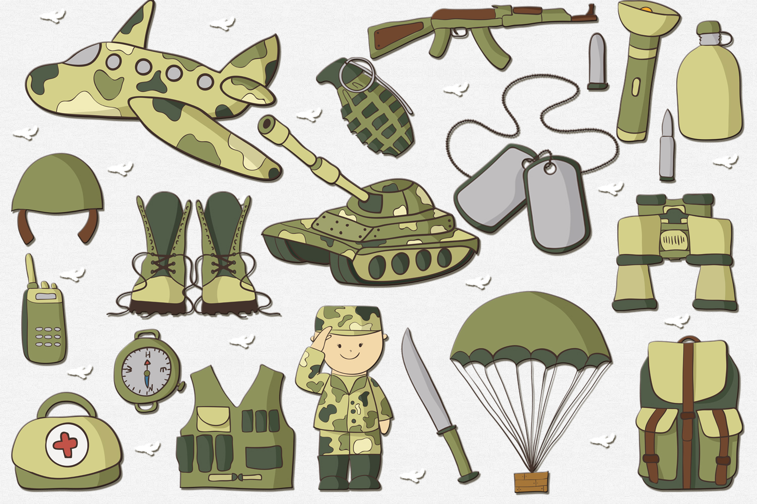 Military example image 2