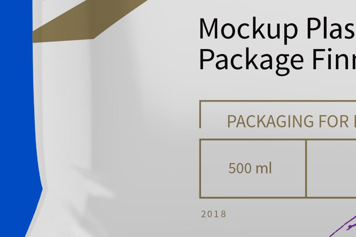 Mockup Package Finn Pack 500ml example image 3