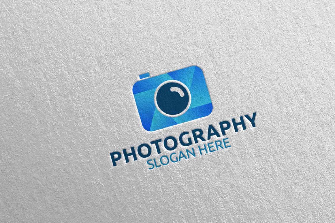 Abstract Camera Photography Logo 9 example image 3