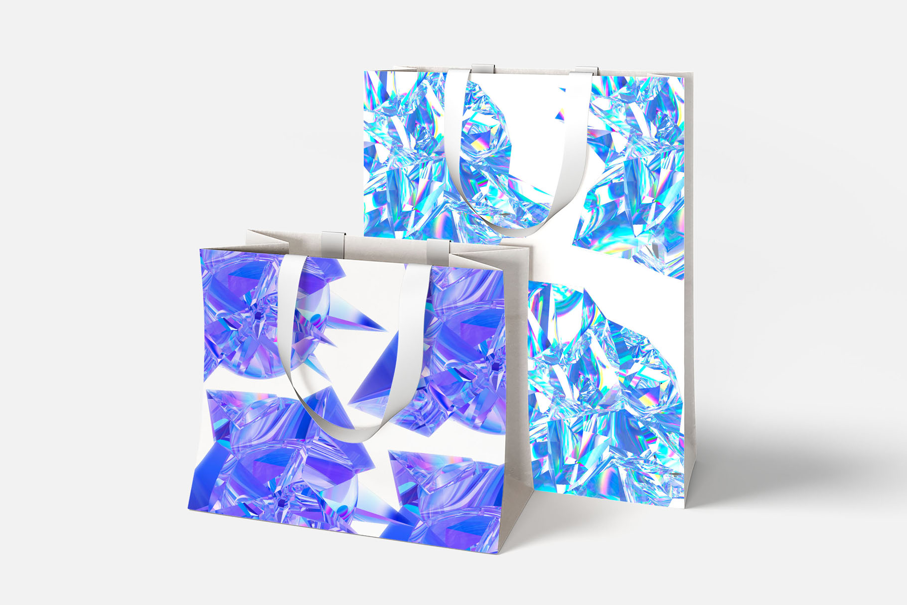 Crystalic - abstract shapes example image 6