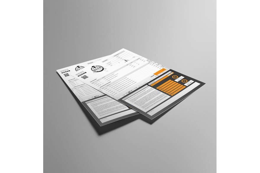 A4 Invoice Template example image 3