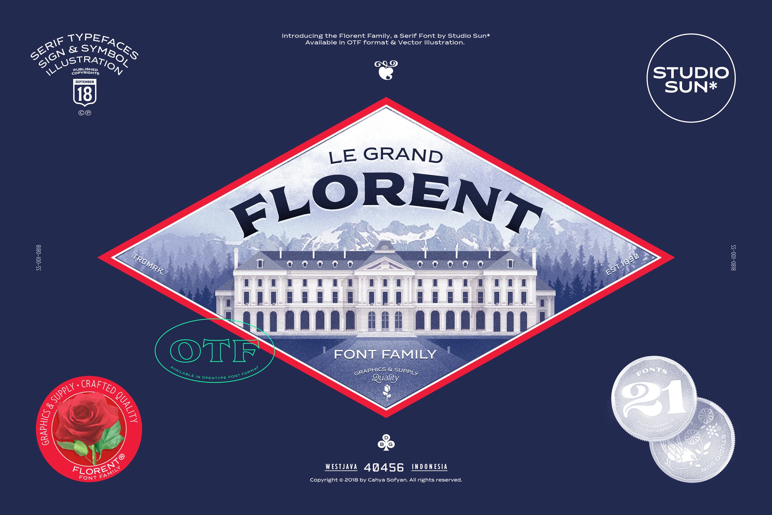 Florent Font Family example image 1