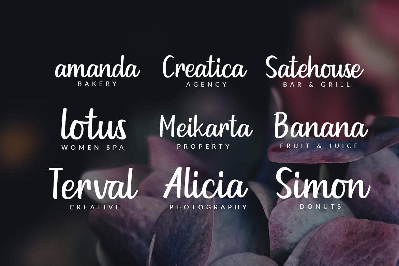 Goldiana - Font Script example image 7