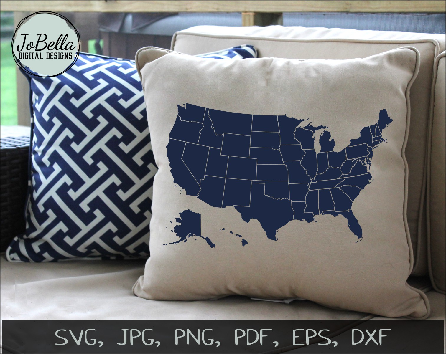 Patriotic SVG Bundle- July 4th Sublimation PNGs & Printables example image 9