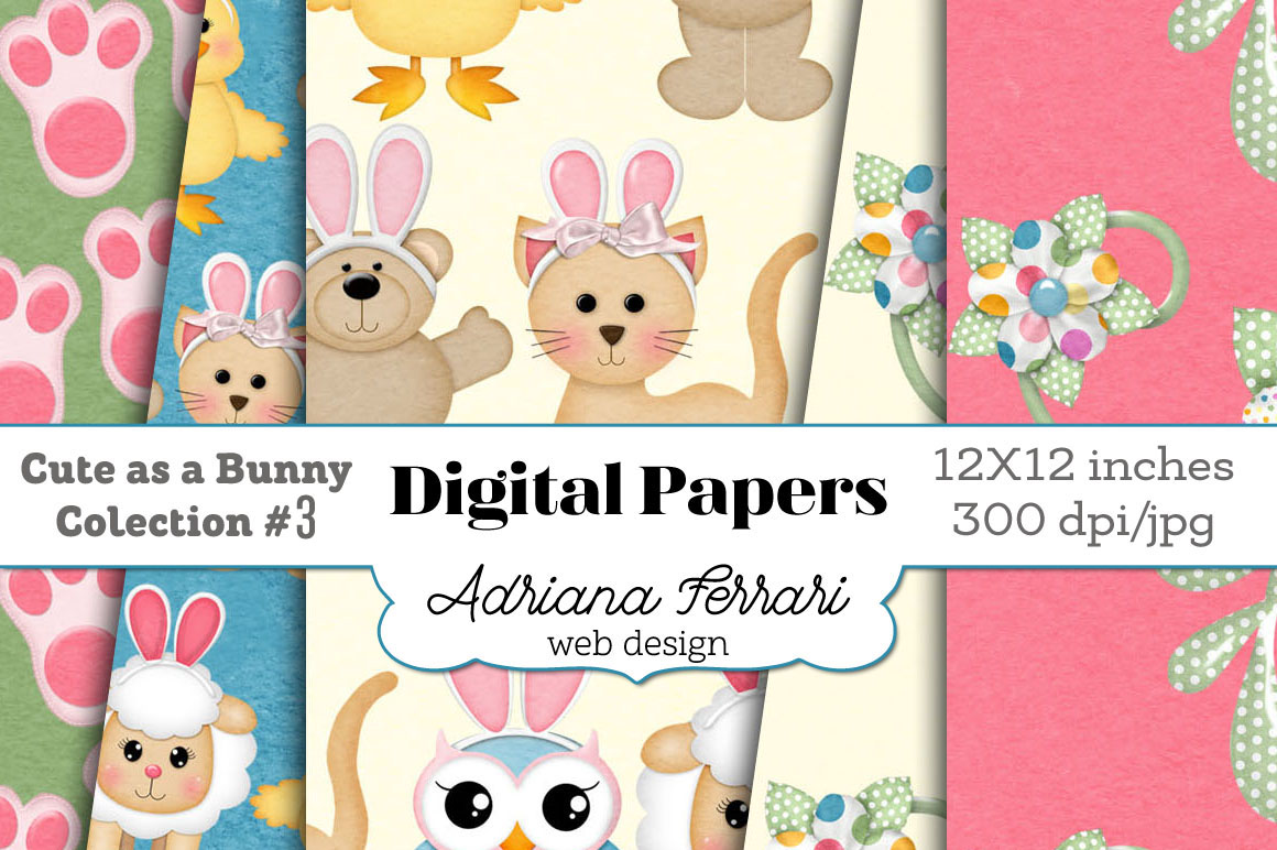 Cute as a Bunny Paper 3 example image 7