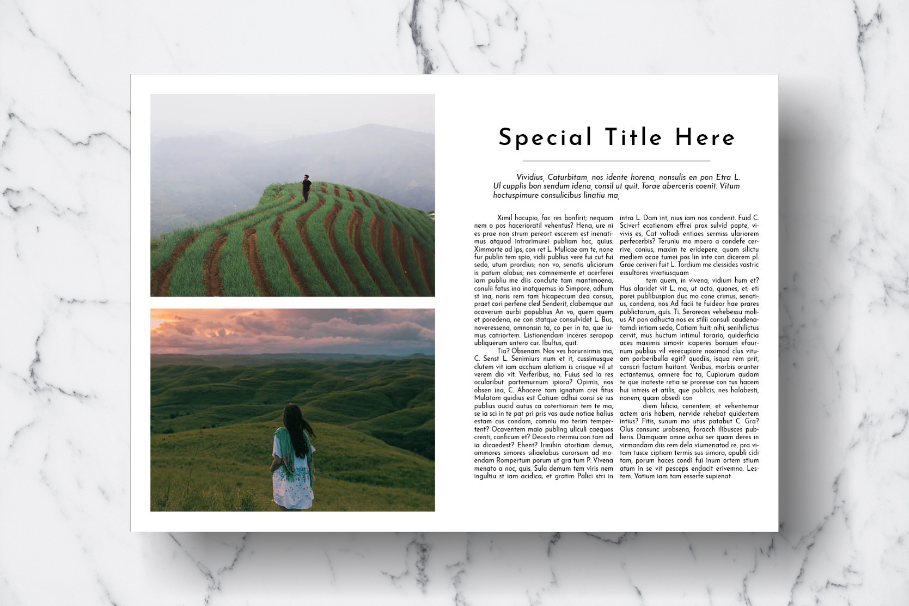 Magazine Template Vol. 18 example image 14