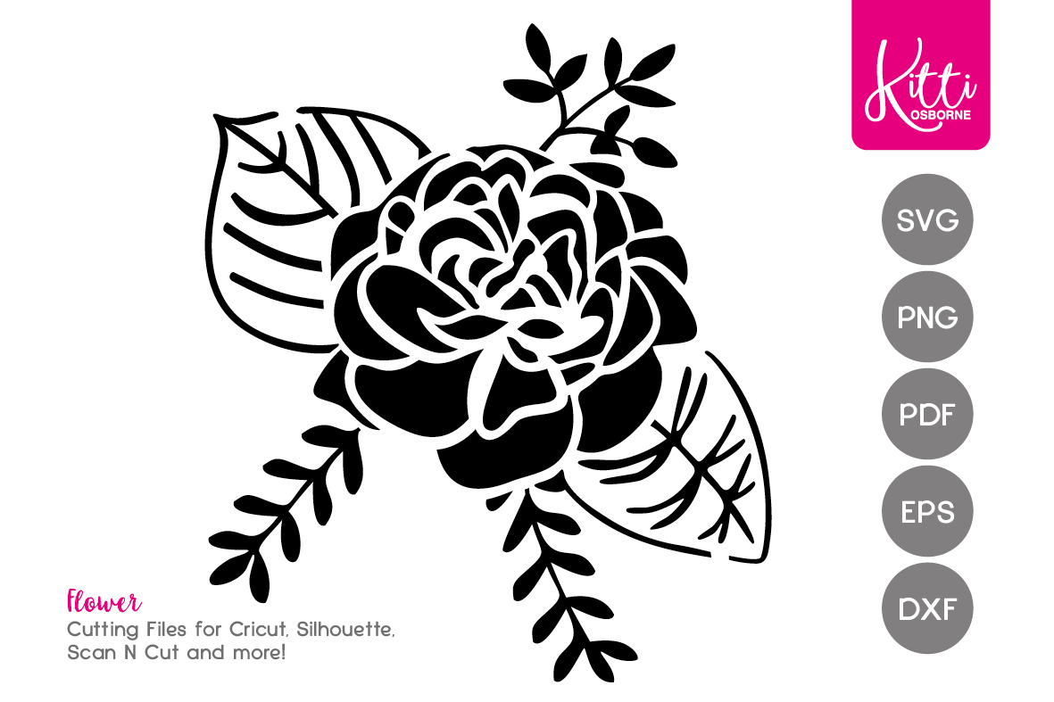 Flower cutting file example image 1