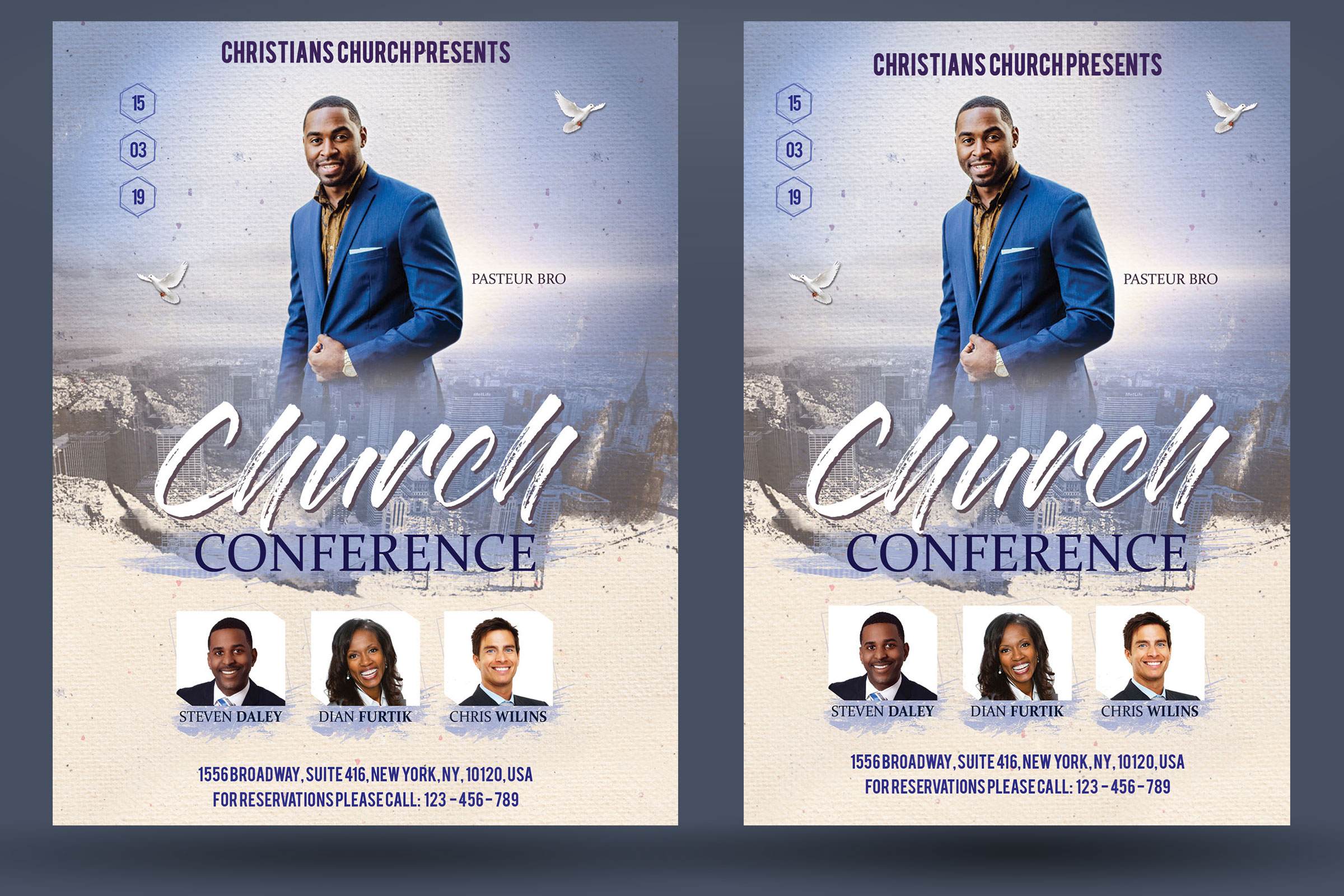 Church Conference Flyer Poster example image 2