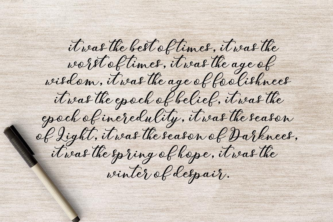 Winnie Marrie Script example image 9