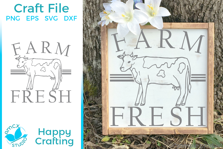 Farm Fresh - A Farm Kitchen SVG File example image 1