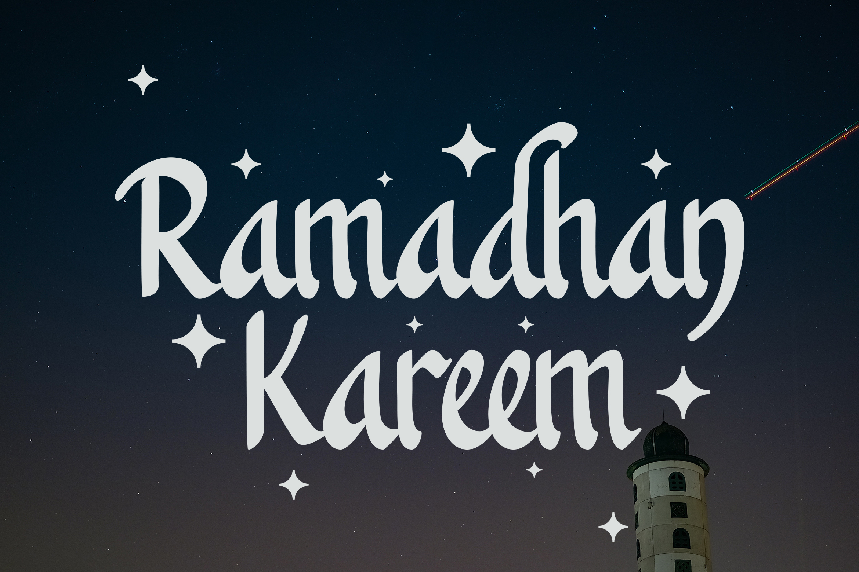 Khanaya - Serif Script Font example image 2