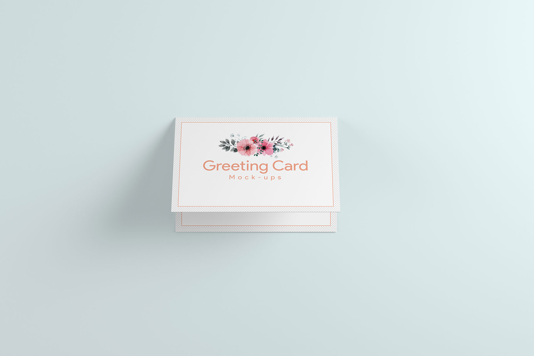 A6 Greeting Card Invitation X2 example image 7