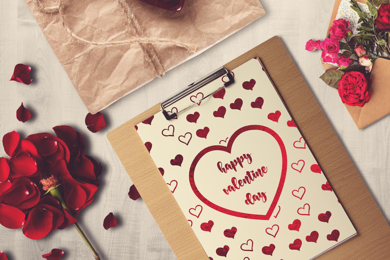 Valentine A4 Letter Mock-up #5 example image 1