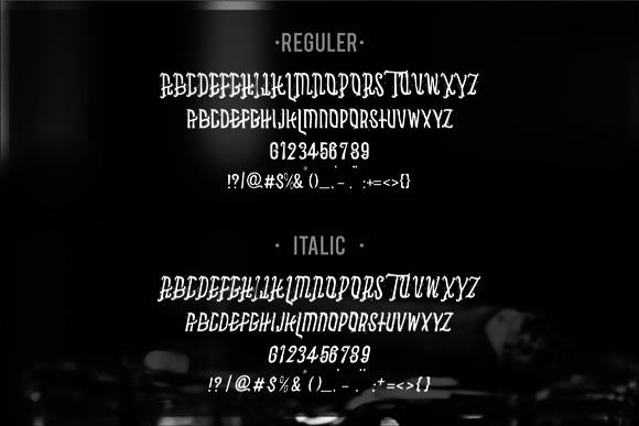 Asbak Typeface 1