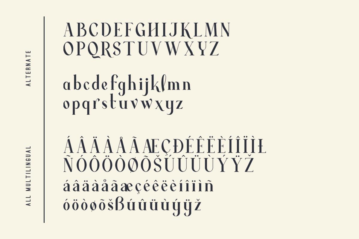 Average - Modern Serif Typeface example image 14
