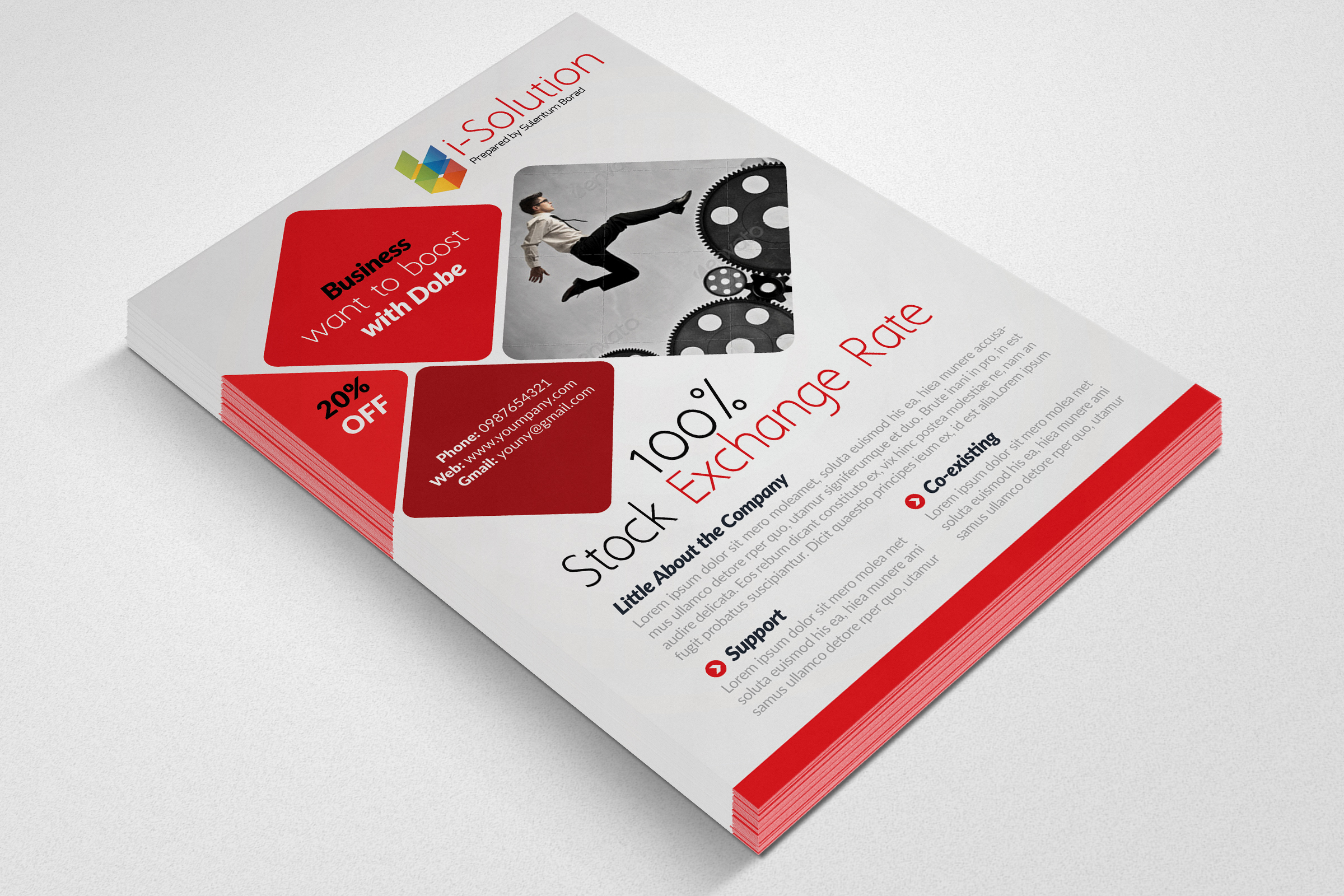 Business Strategic Management Flyer example image 3