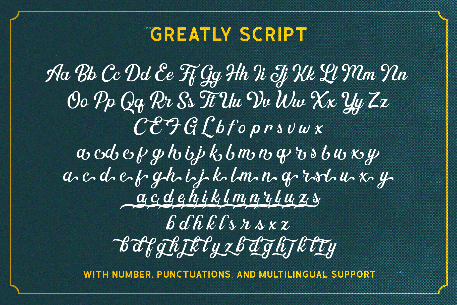Greatly Font Duo & Logo Templates example image 11