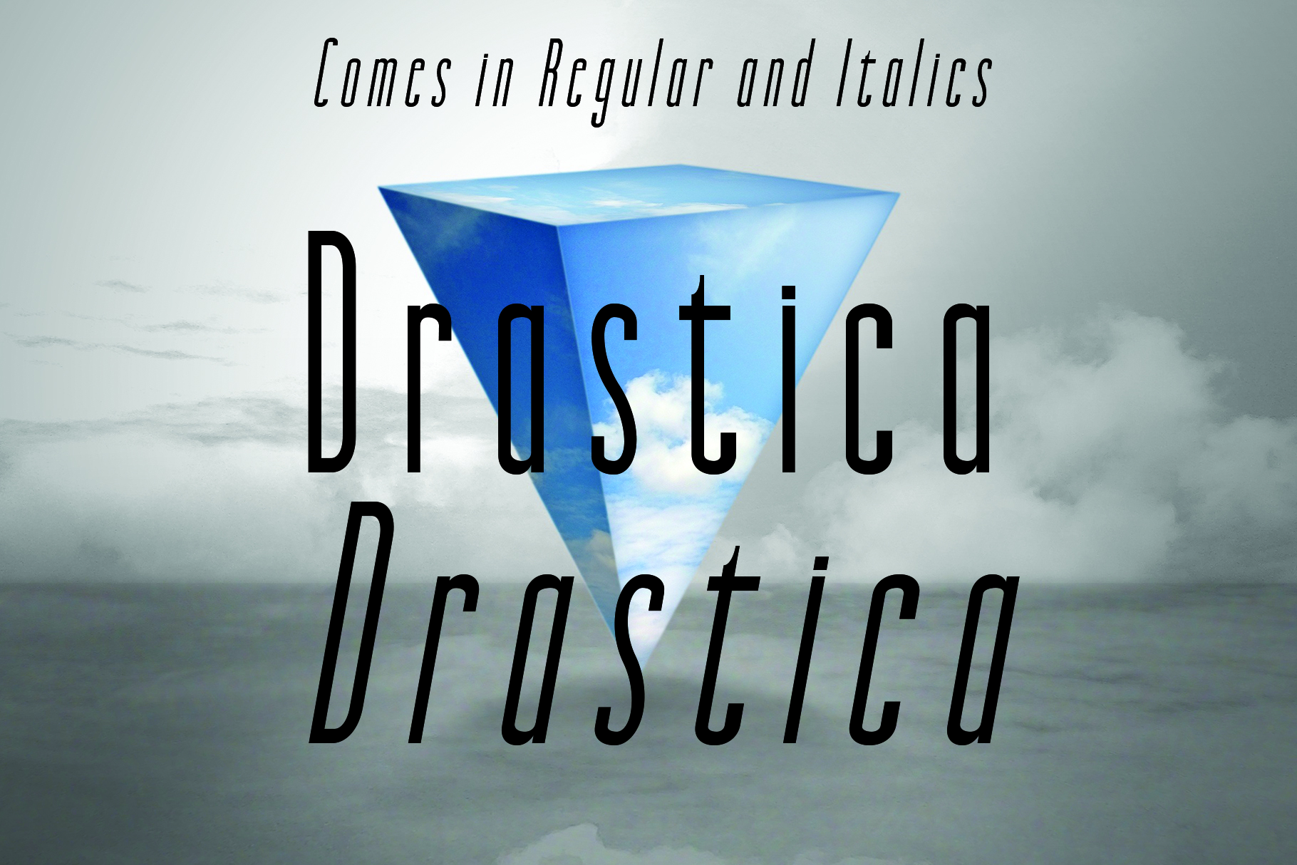 DRASTICA, A Modern Typeface example image 6
