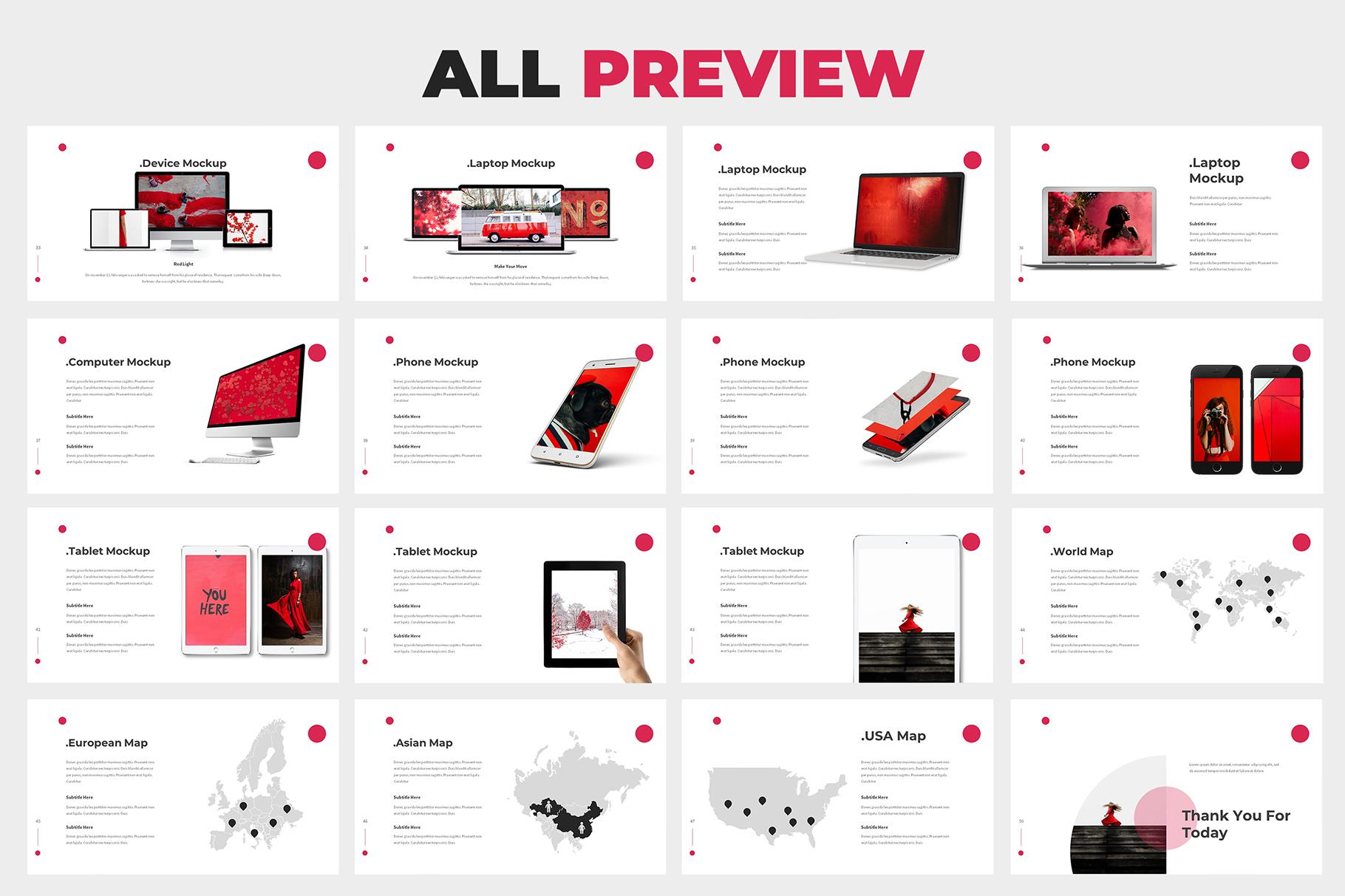 Redialo - Branding Guideline Powerpoint Template