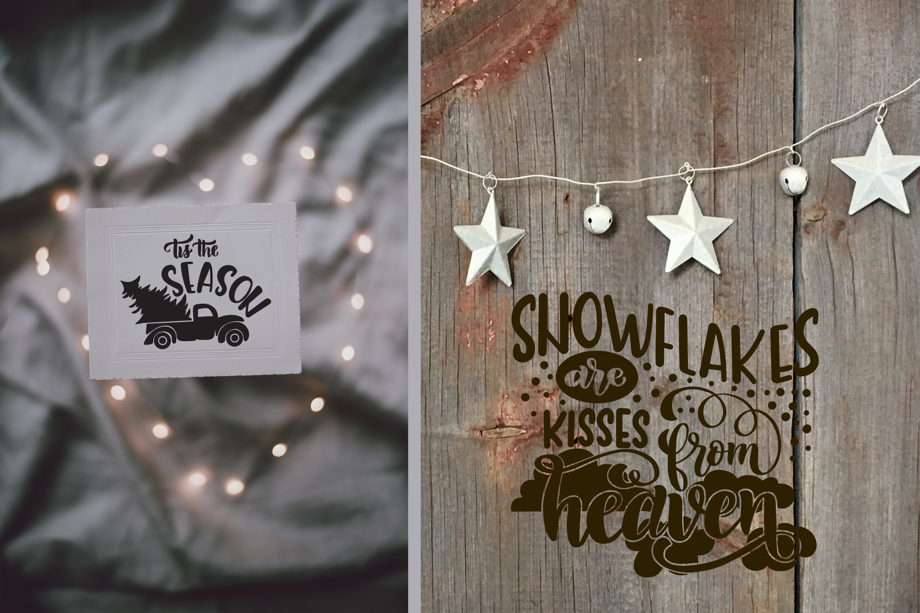 Christmas svg BUNDLE BIG set of 60 quotes example image 9