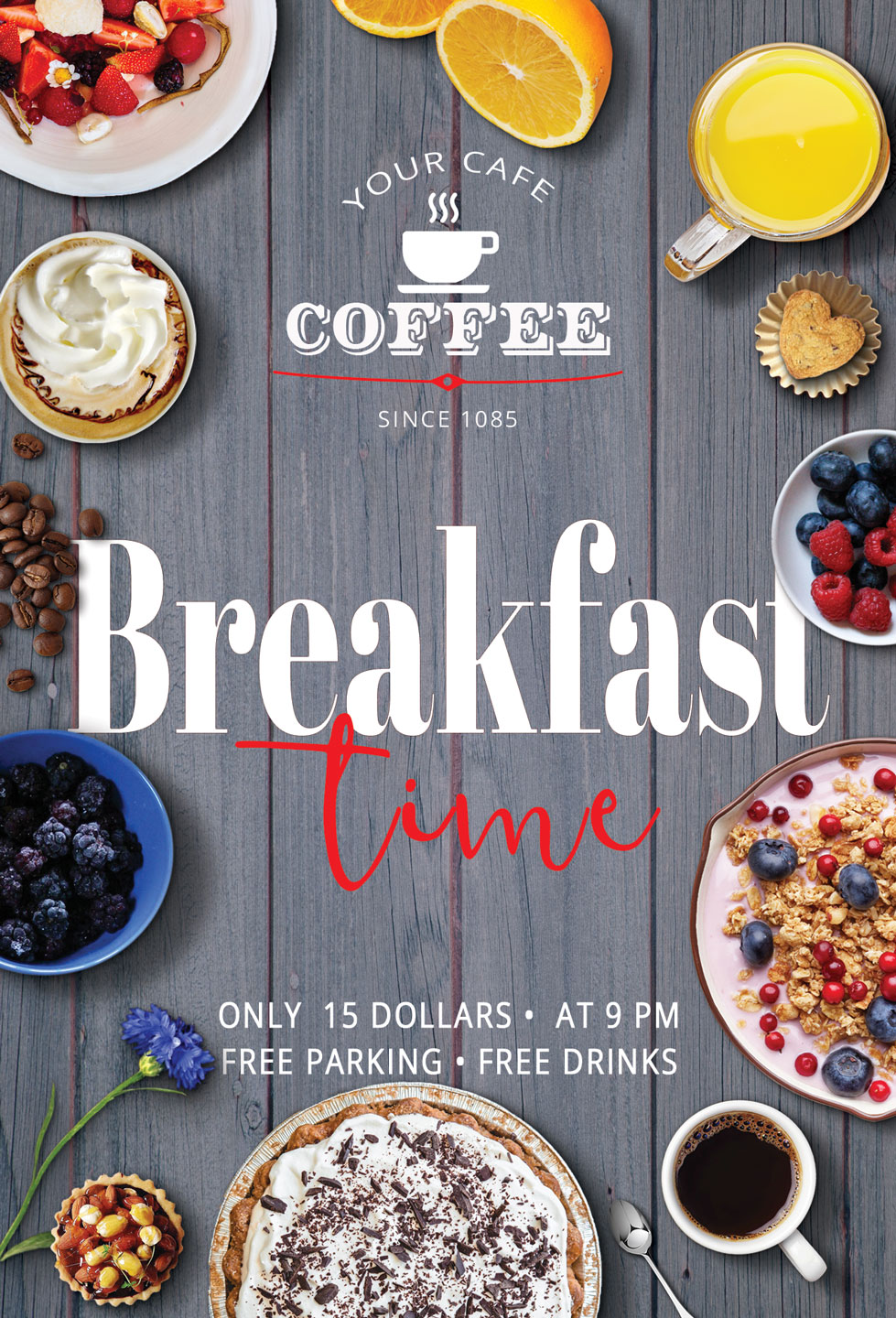 Breakfast Time Flyer example image 6