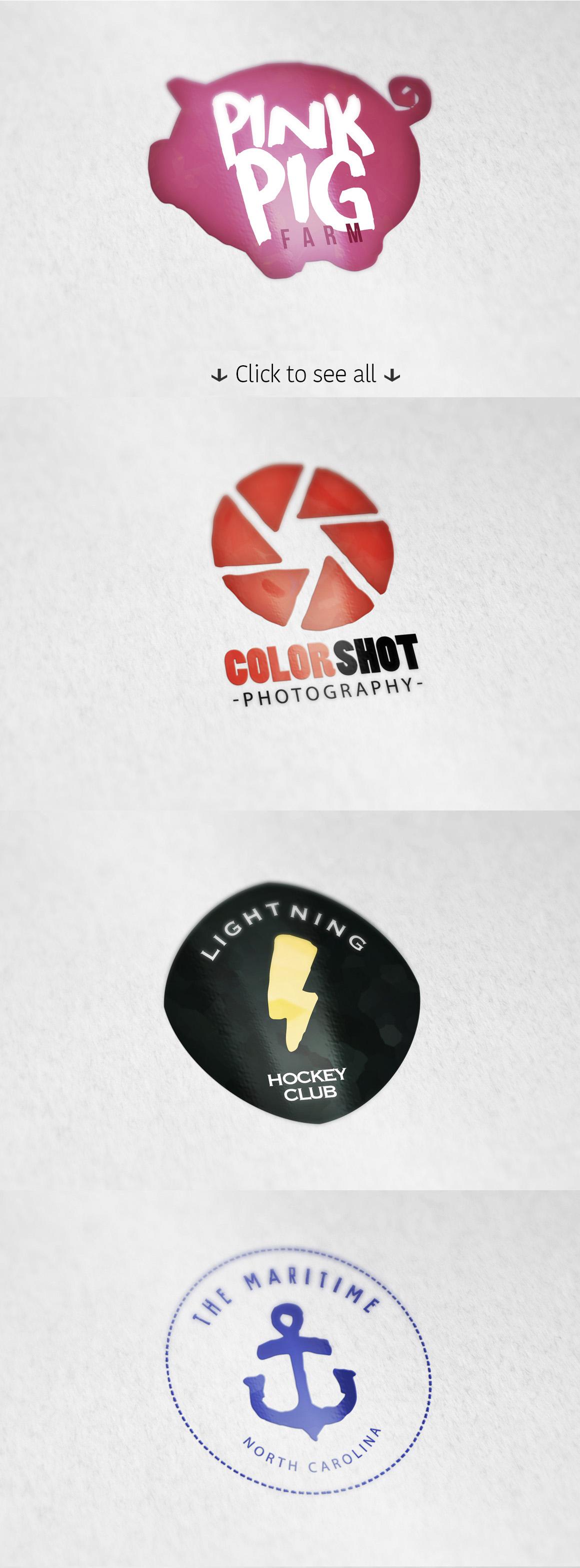 8 Logo Templates + Extras example image 3