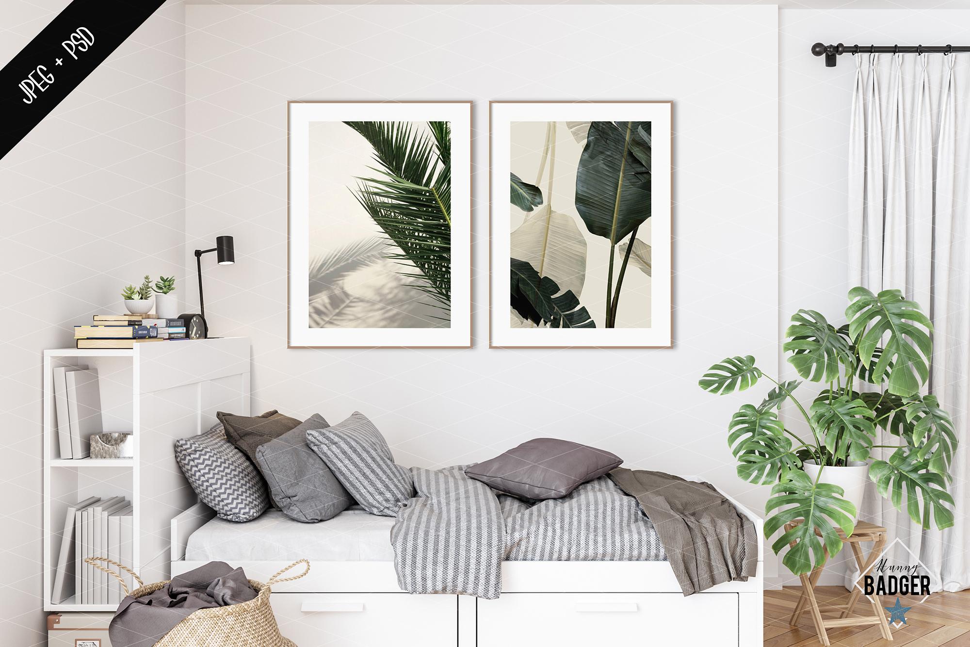 Interior mockup BUNDLE - frame & wall mockup creator example image 12