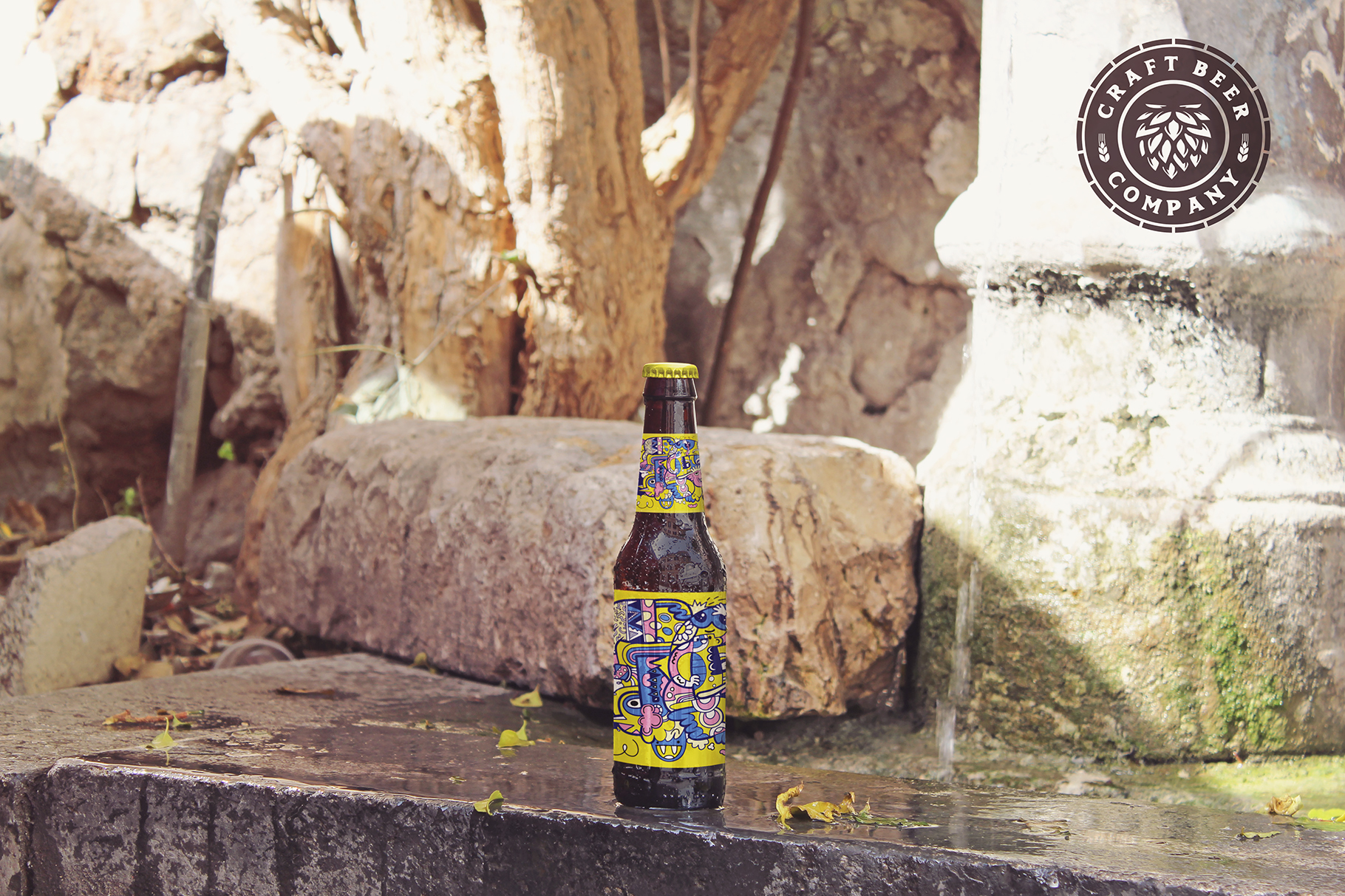 Fountain Beer Mockup example image 2