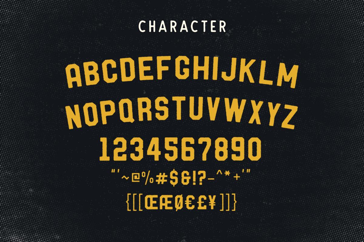 Barthon Typeface Combo (7Fonts)! example image 2