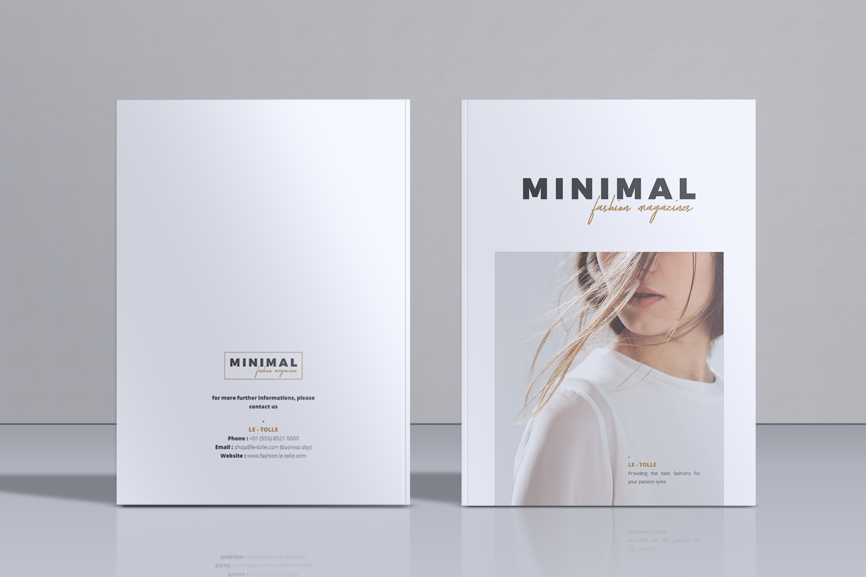 MINIMAL Lookbook Magazines Fashion example image 1