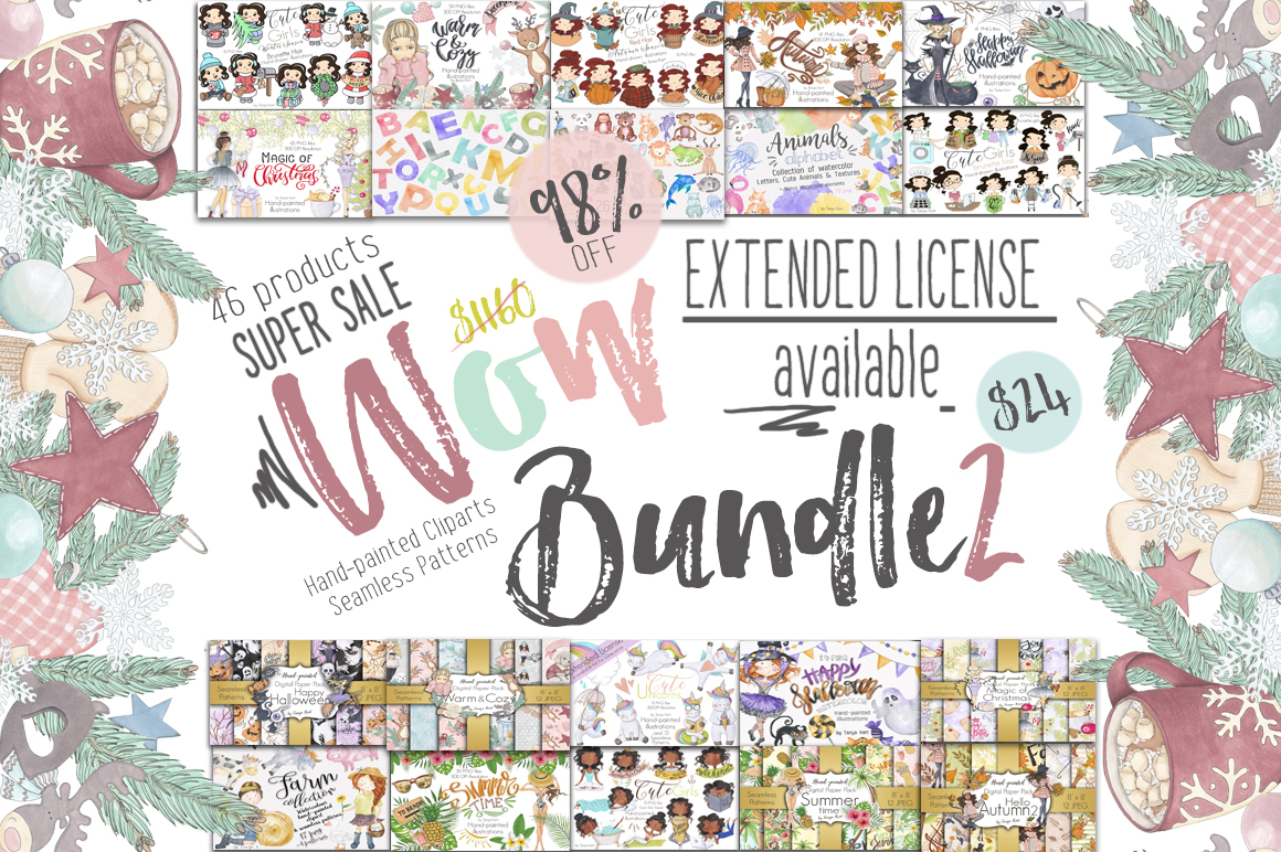 Wow Bundle 2 Edition Spring SALE 98% Off example image 1
