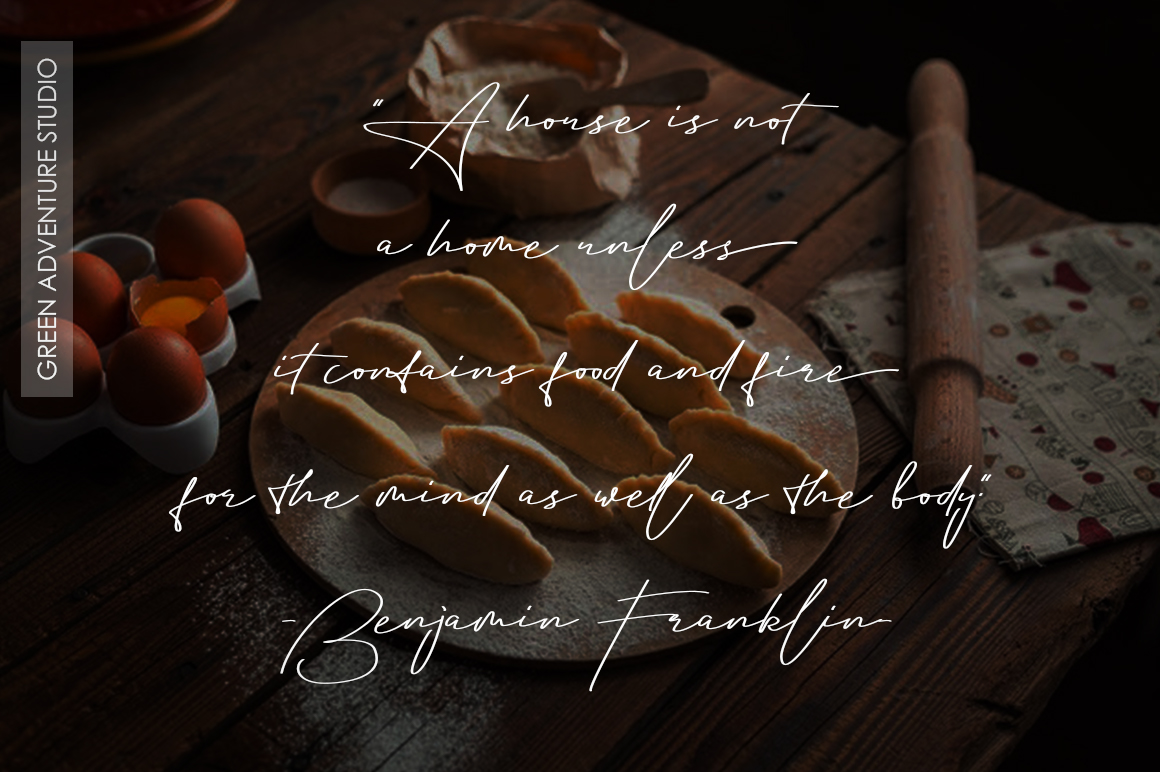 Aletheia | A Handwritten Signature Font example image 7