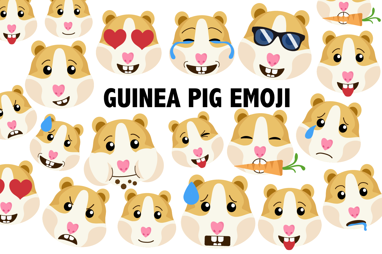 Guinea Pig / Hamster Clipart example image 1