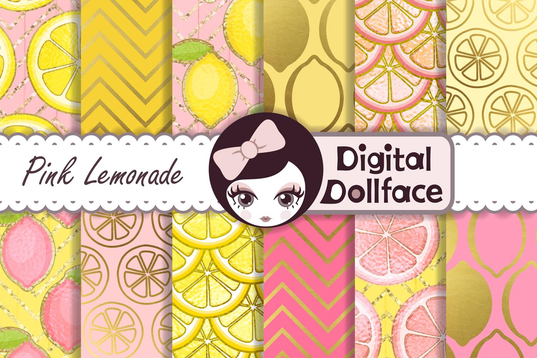 Pink Lemonade Digital Patterns example image 1