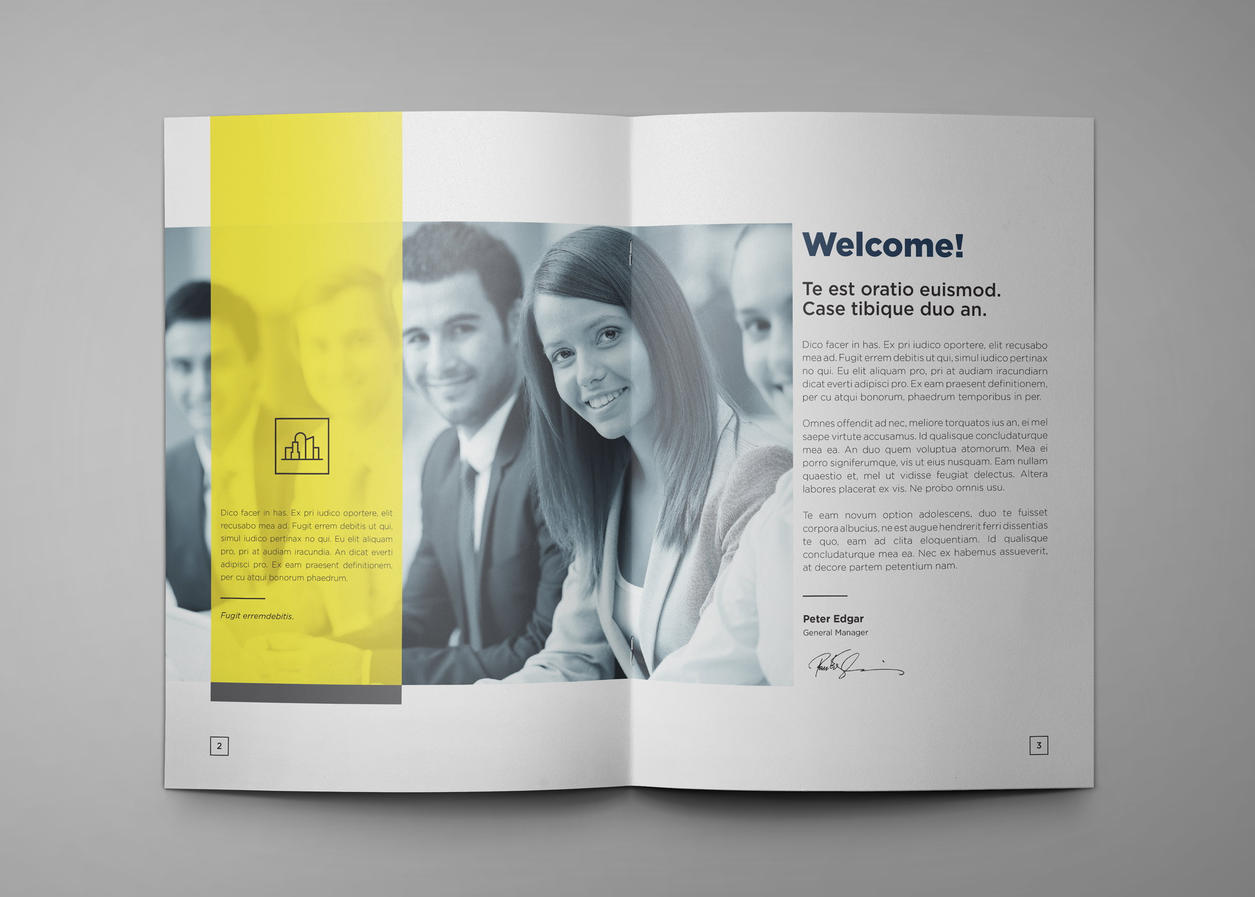Corporate Company Profile example image 3