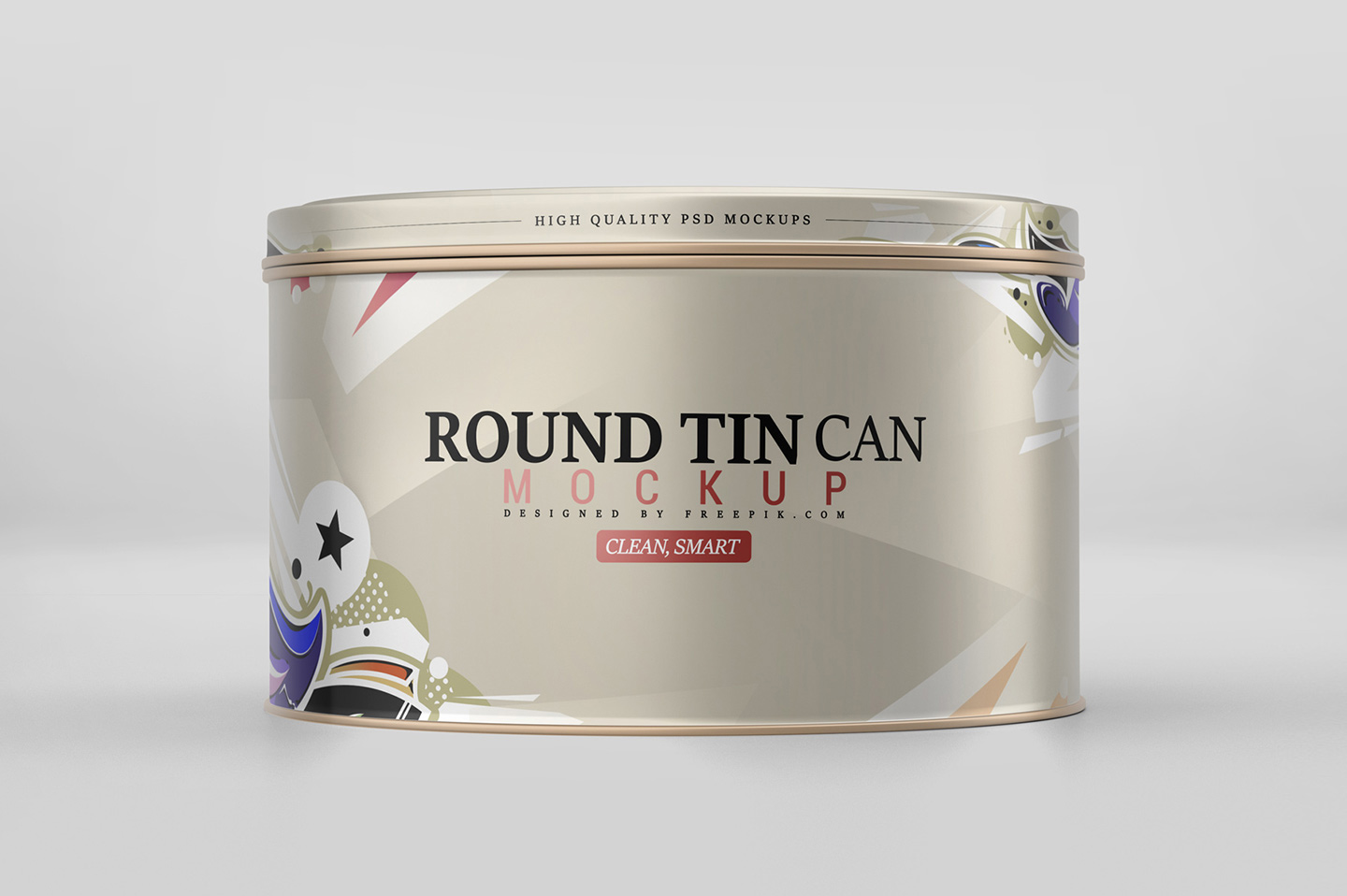 Round Tin Can Mockup example image 3