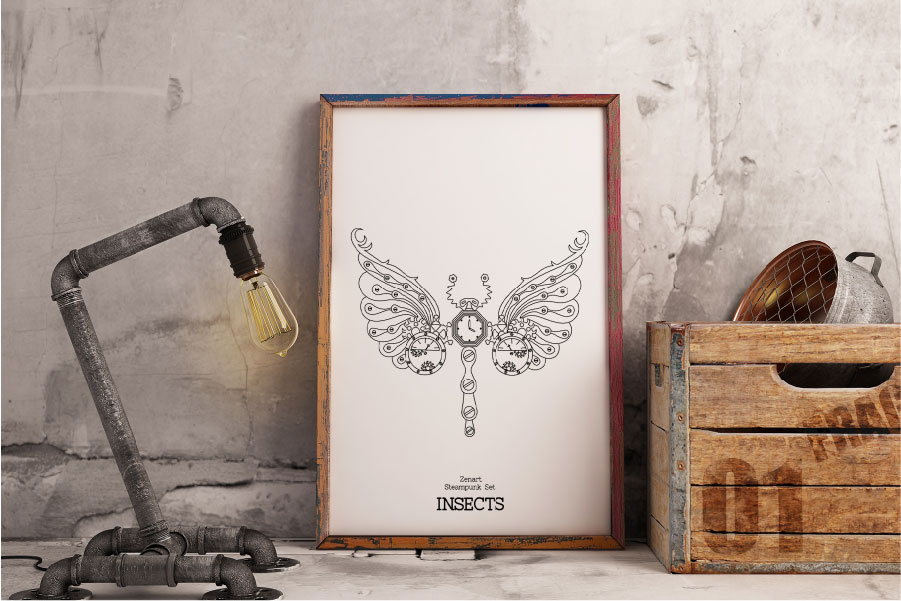 Zenart Steampunk Insects Set example image 6