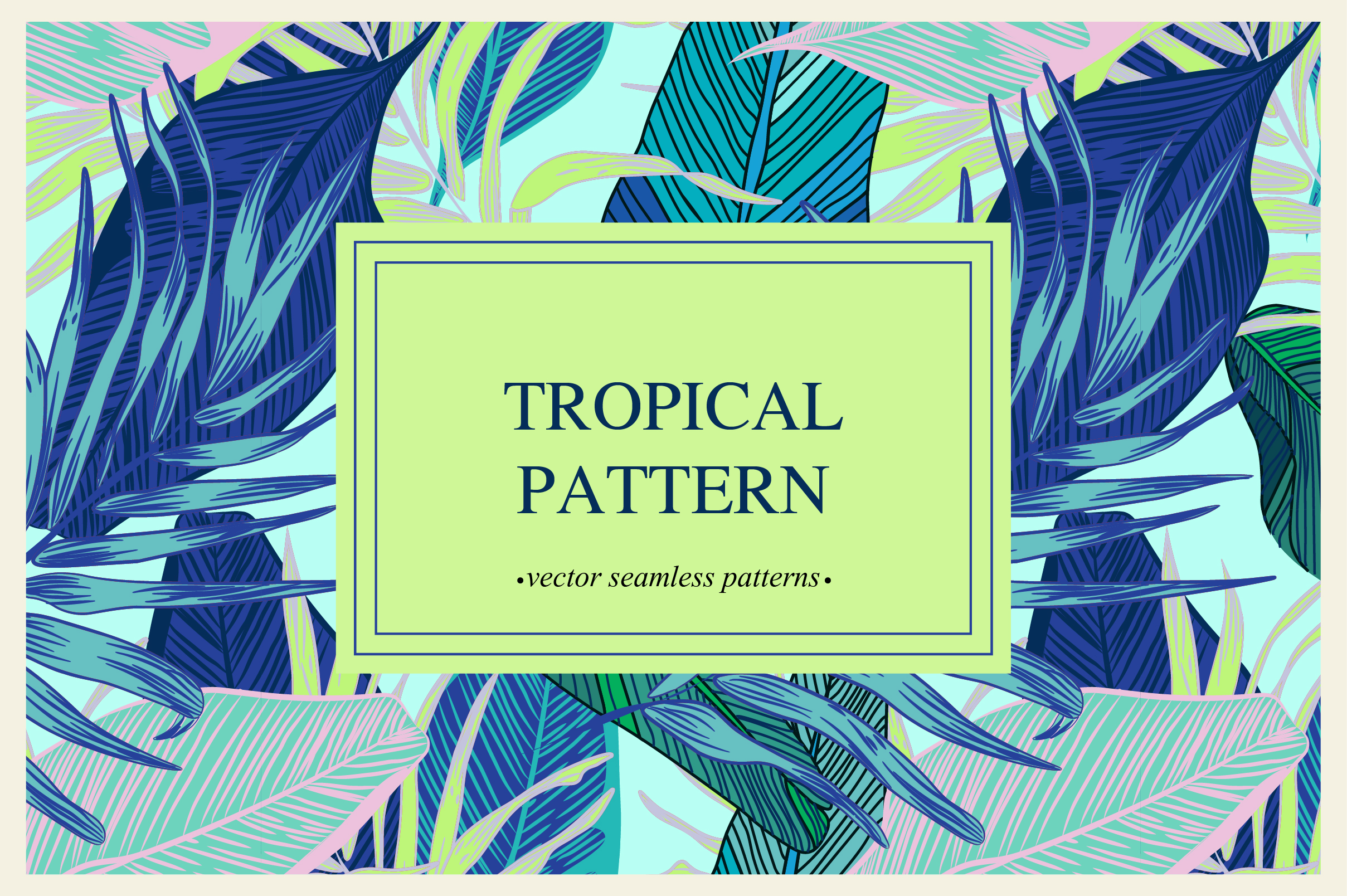 Tropical pattern example image 9
