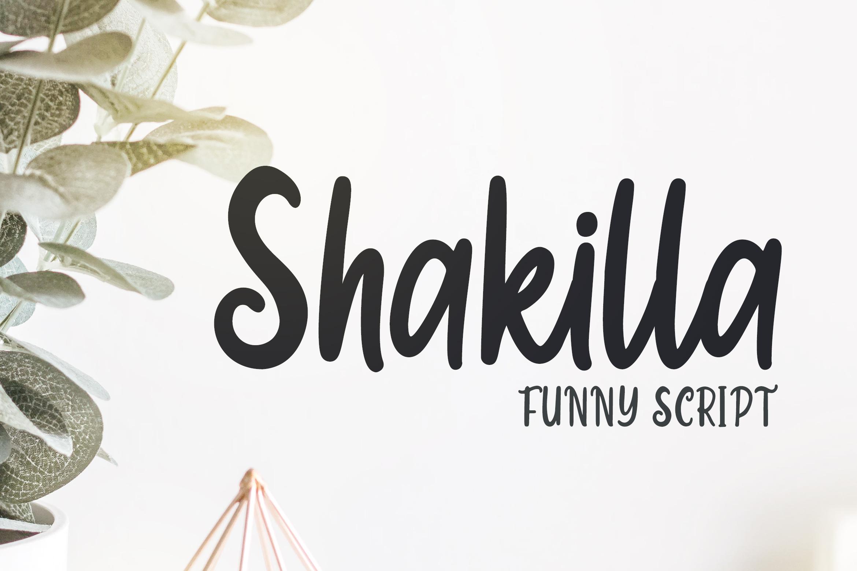 Shakilla - Funny Script example image 1