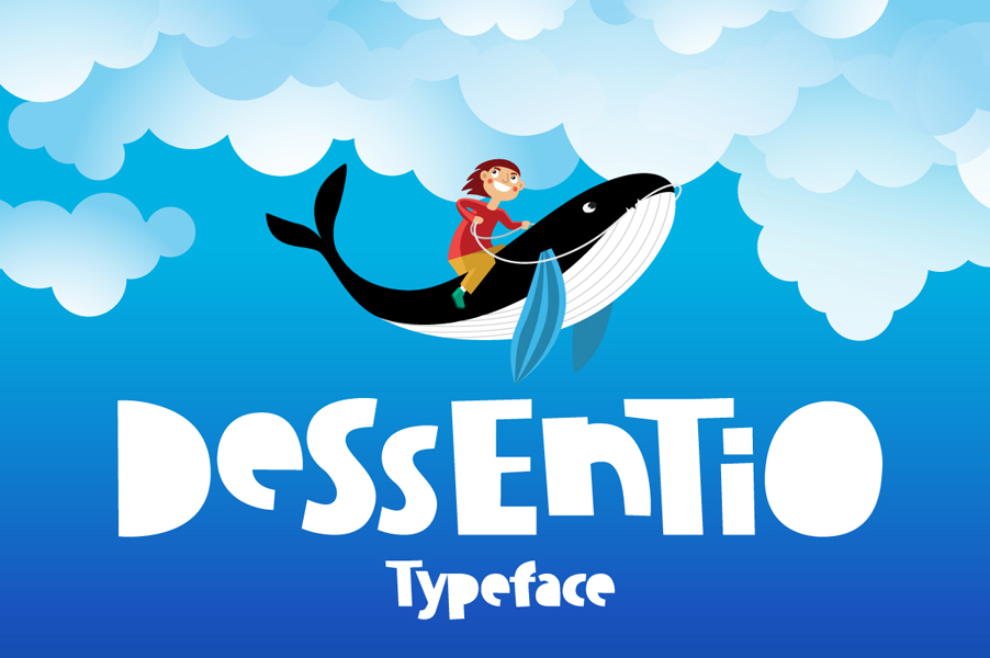 Dissentio Typeface example image 2
