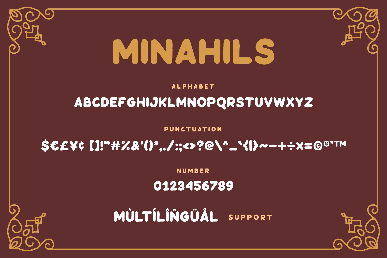 Minahils - Vintage Sans Font example image 5