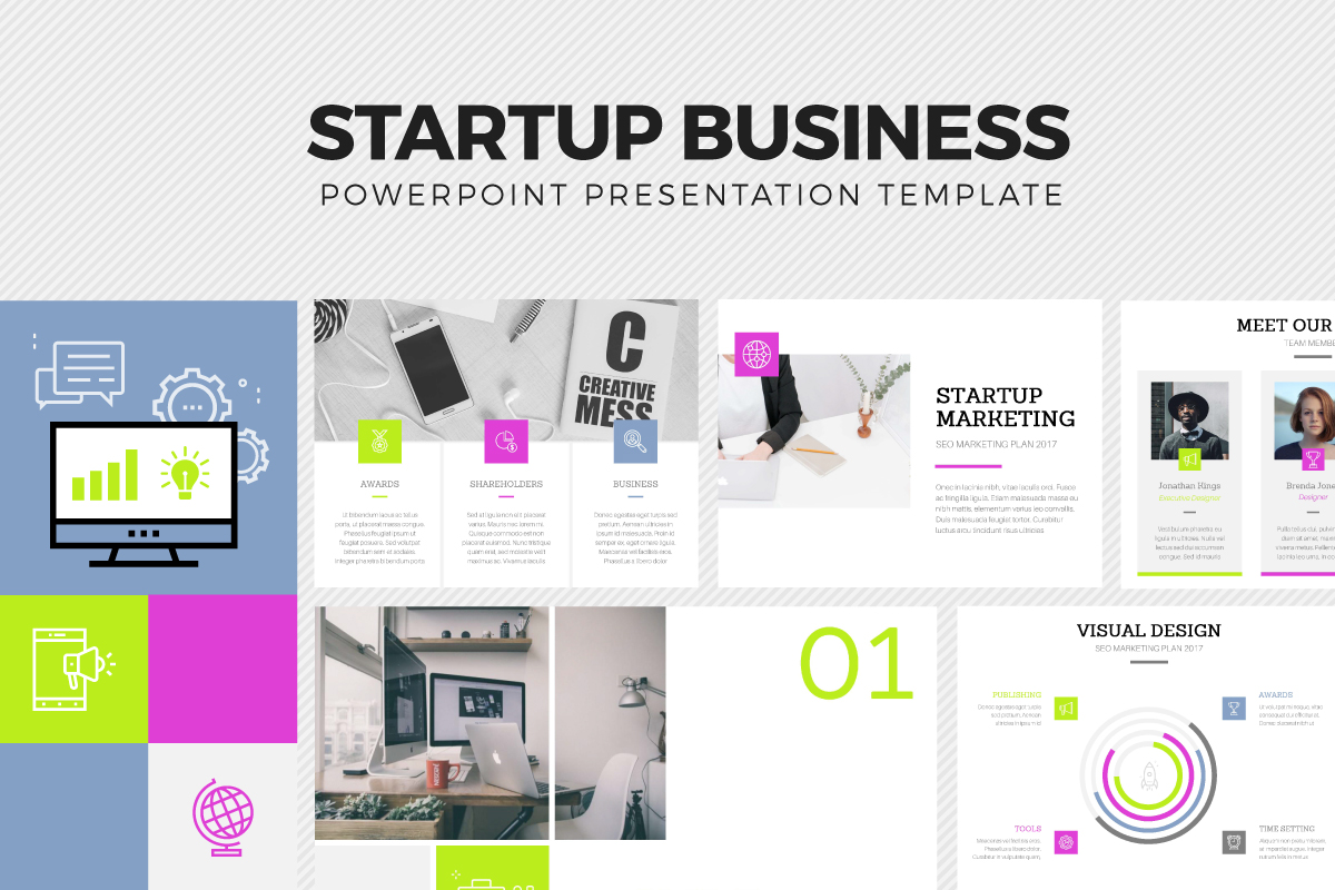 Startup business template by pavee desi design bundles startup business template example image 1 wajeb Images