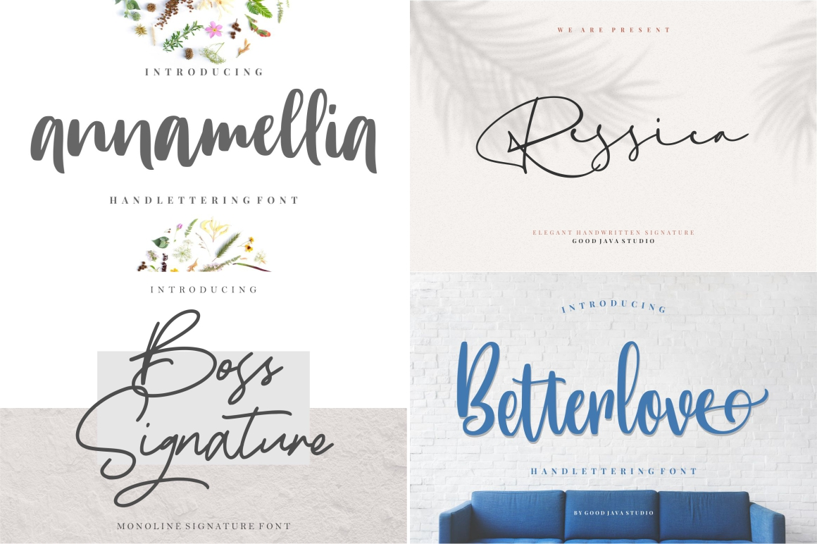 BEST CRAFTER FONT COLLECTIONS example image 5