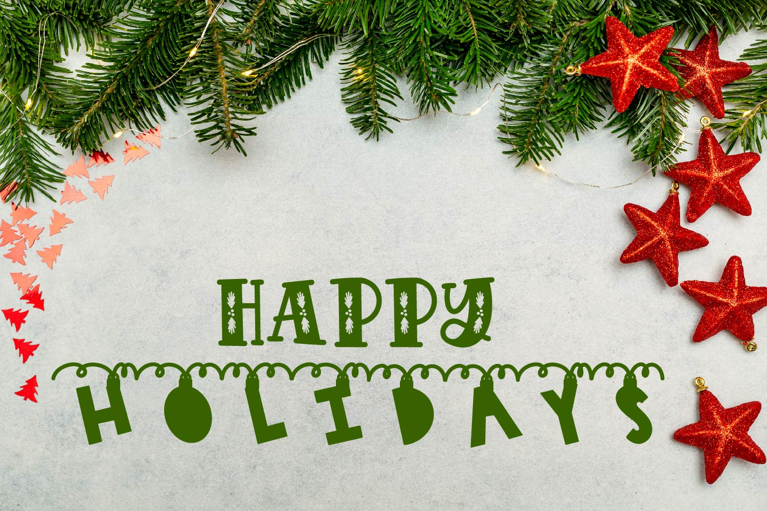 Chime - A Hanging Christmas Ornament Font example image 3