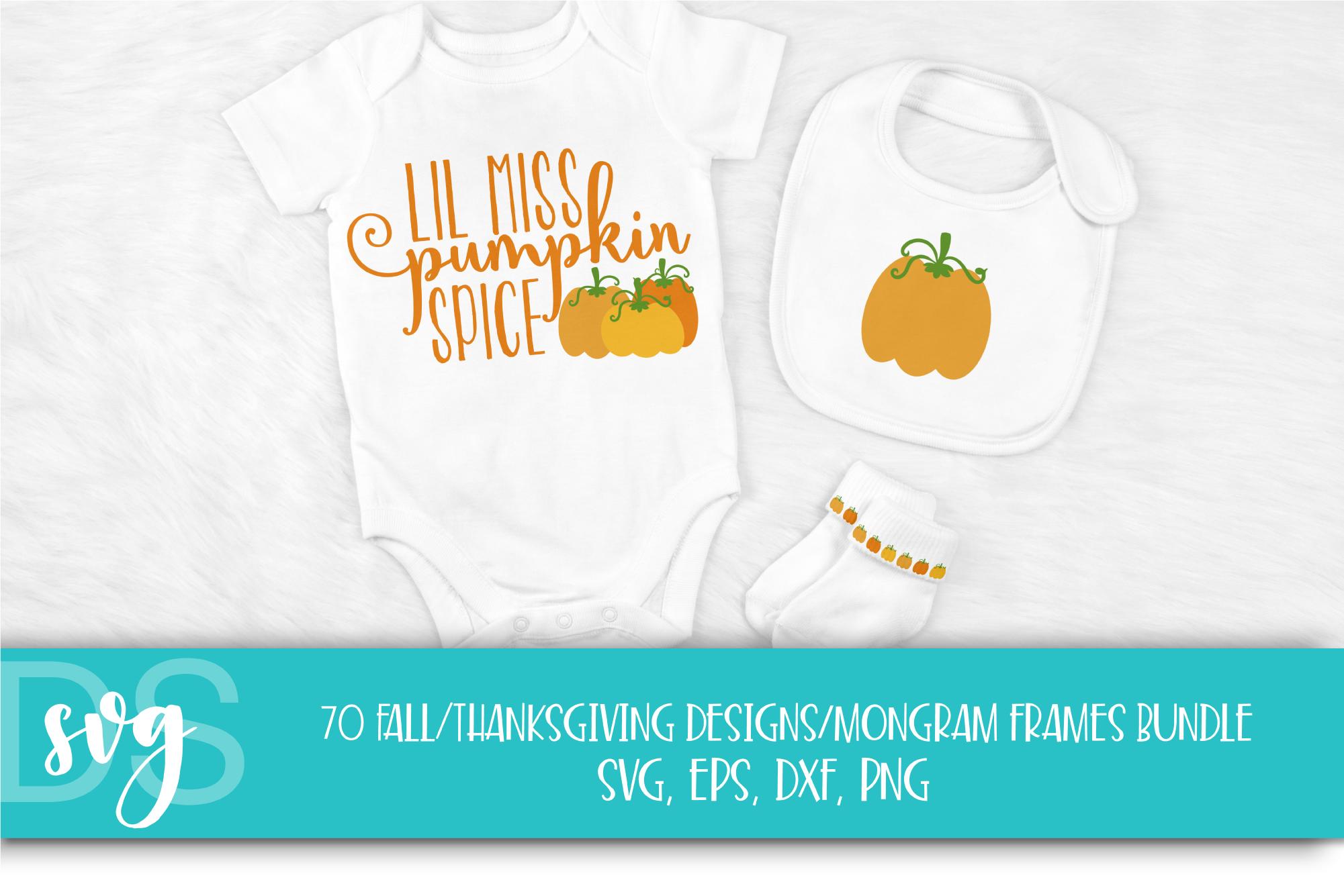 Fall, Pumpkin, Halloween, SVG, PNG, Thanksgiving Bundle, example image 5