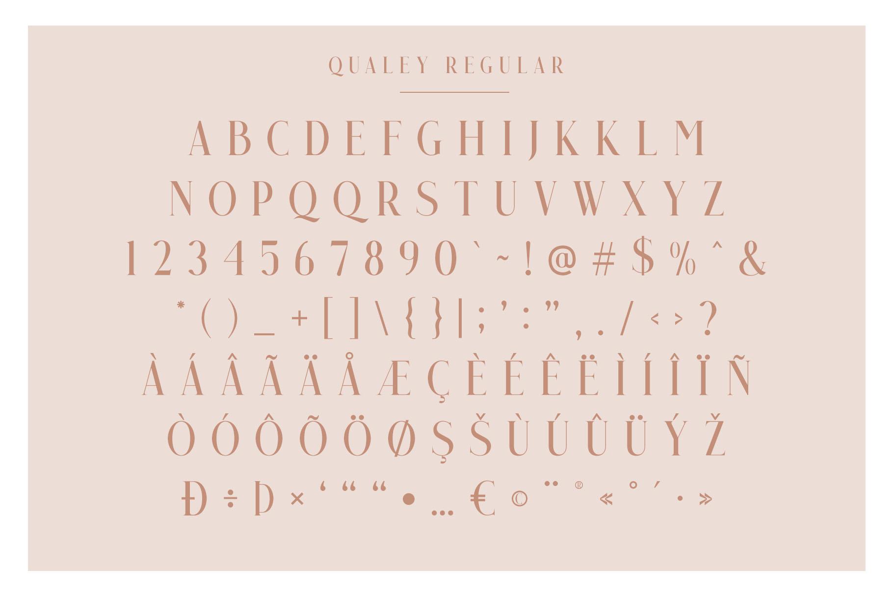 Qualey - Elegant Serif Font example image 8