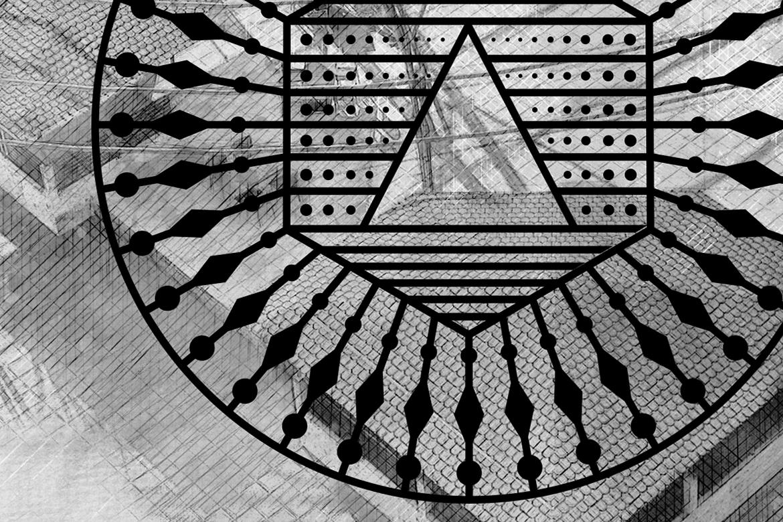 100 Geometric Costum Shapes - CSH example image 14