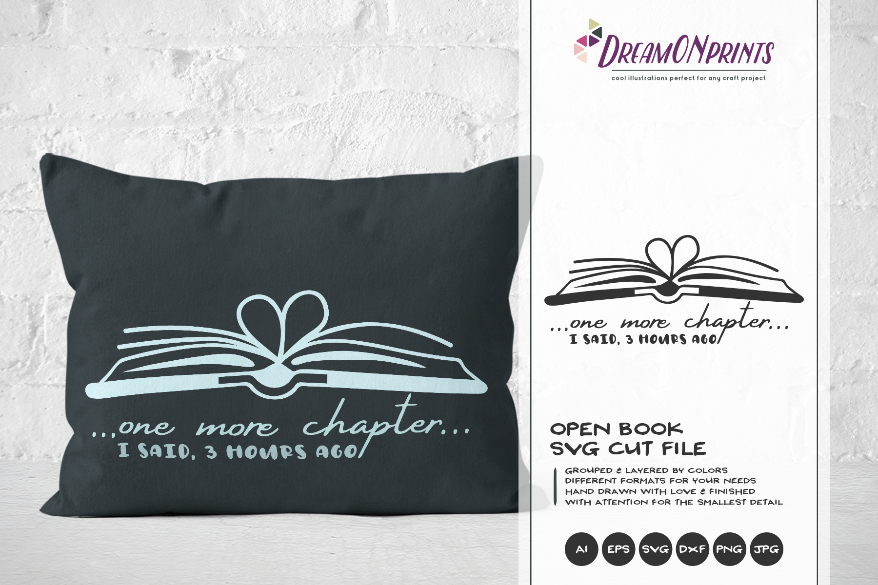 The Book Lover | Funny SVG Bundle example image 14